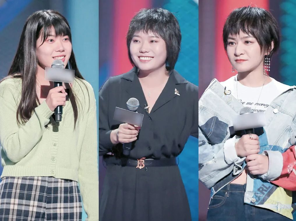 China female stand-up comedian